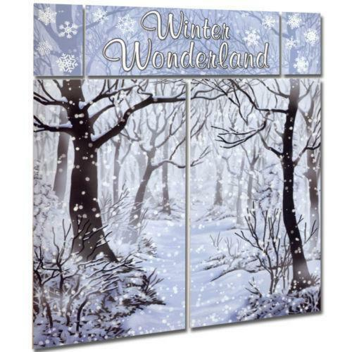 Winter Scene Setter Celebrations Amp Occasions Ebay