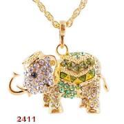 Gold Elephant Pendant