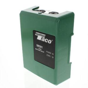 BRAND NEW TACO SR501-4  ONE ZONE SWITCHING RELAY