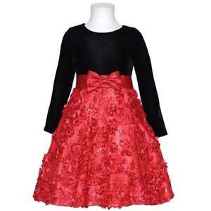 Girls Size 6 Christmas Dress image