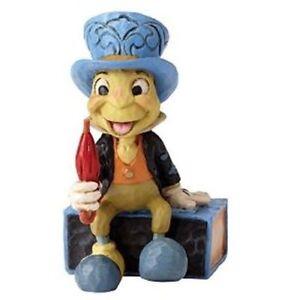 New Enesco Disney Traditions Jiminy Cricket Match Box Figurine
