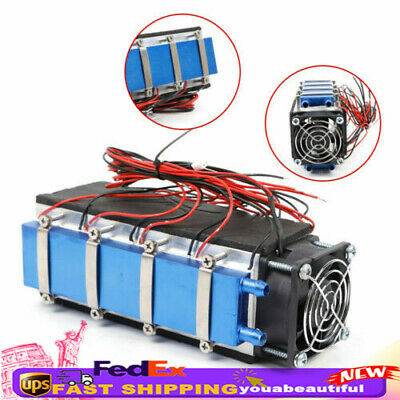 8-chip 576w Thermoelectric Peltier Cooler Air Cooling Devices 12v Water Cooling
