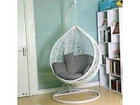 wanted garden hanging egg chair cash waiting