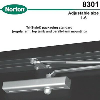 Norton 8301 Equal Yale 3301 Door Closer Aluminum Factory Fresh Compare