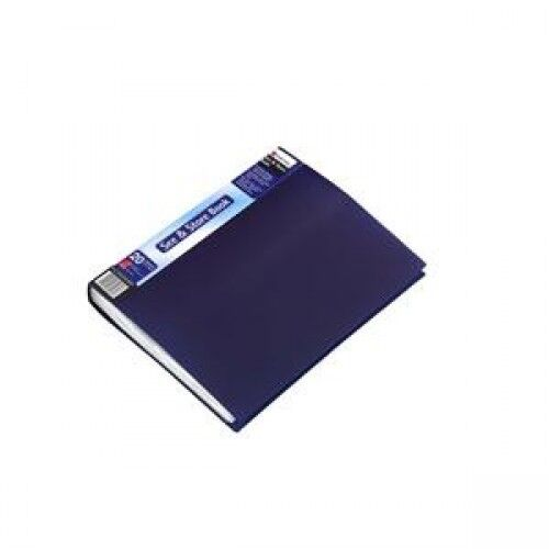 A4 DISPLAY BOOK - 20 POCKETS (40 VIEWS) - REXEL -BLUE COVER - 1 OR BOX OF 5