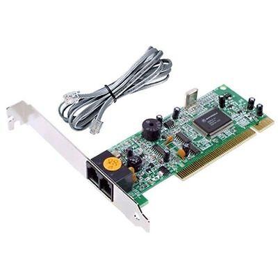 56K V.92 V92 V90 Dail Up Data Fax Modem Internal PCI Card Conexant Chipset