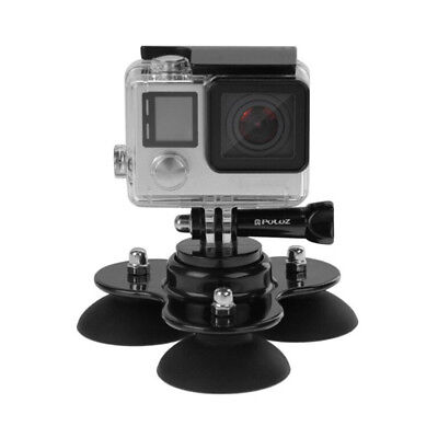 Triple Suction Cup Car Windscreen Dash Mount for GoPro Go Pro Hero 1 2 3 3+ 4_TH