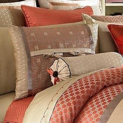 Waterford Linens Bryant / Bogden Embroidery 3-PC King Flat Sheet and Pillowcases Waterford Flat Sheet