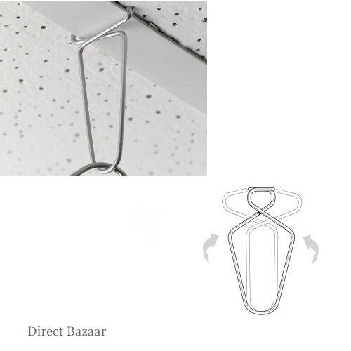 12 x Kaliper Clip Suspended Ceiling Hangers, Clips, Hooks