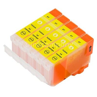 5 für CANON Patronen +Chip CLI8 yellow IP3300 IP3500 IP4200 IP4500 IP5200 IP5300 online kaufen