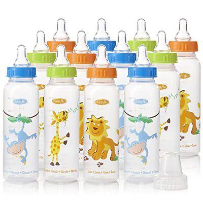 Evenflo Feeding Zoo Friends Polypropylene Bottles for Baby,