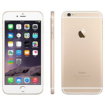 Apple iPhone 6 Plus - 16GB - Gold (Factory Unlocked) A1522 Smartphone SRF