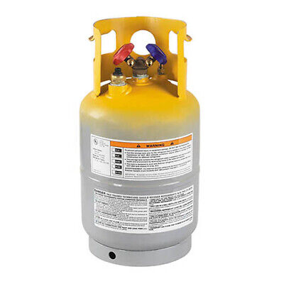 Robinair 17605 Refrigerant Tank 30 Lb Tank With Float Switch 17650a