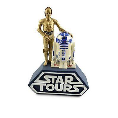 R2 D2 C 3Po Coin Bank Star Wars Tours New Disney World Parks Exclusive Souvenir