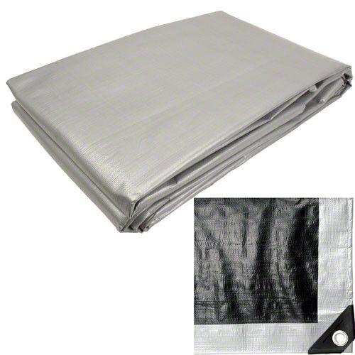 Multiple Sizes 50/% OFF Heavy Duty Silver Tarps Canopy Roof Tarp Open Box