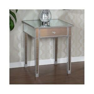 Image Result For Mirrored Accent Table