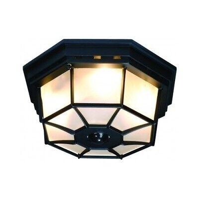 Motion Activated Outdoor Light Fixture Ceiling Porch Sensor