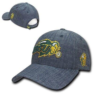 North Dakota State University NDSU Bison NCAA Cotton Denim Baseball Ball Cap -