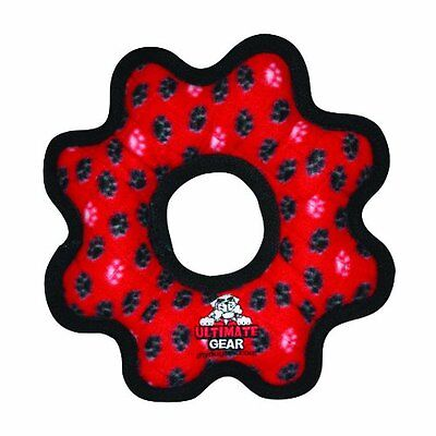 Tuffy Ultimate Gear Ring Red Paw