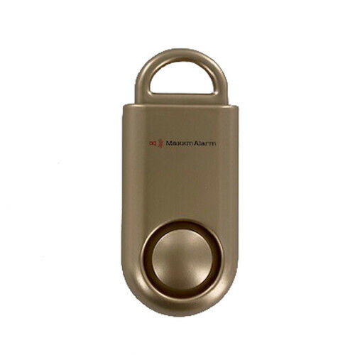 MaxxmAlarm Personal Security Alarm in Gold