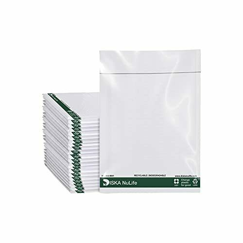 Biodegradable Poly Bubble Mailers Padded Envelopes Plastic Protective Packaging