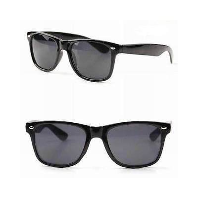 Sunglasses Vintage Retro Black Color New 80s Frame Optical Nwt Two (Two Tone Sunglasses)