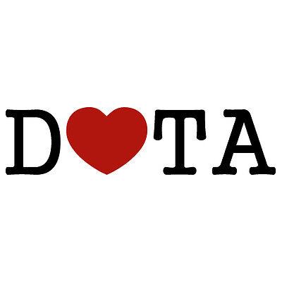 (2X) DOTA 2 GAME INTERNET LAPTOP LOGO MAC WINDOW VINYL DECAL STICKER (DT-01)