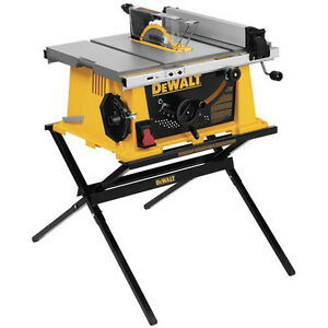 DEWALT-10-in-Portable-Table-Saw-w-Folding-Stand-DW744X-NEW