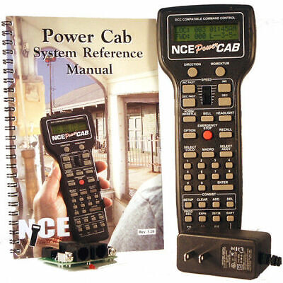 - NCE 0025 * 2 AMP POWER CONTROL Complete DCC Starter Set * NIB
