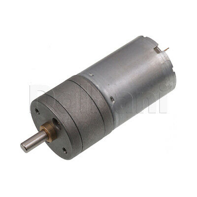 Dc Gear Motor High Torque 25ga 12v 1000rpm 370 For Diy Robotics Arduino