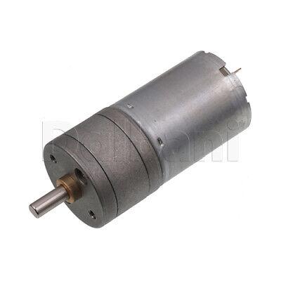 Dc Gear Motor High Torque 25ga 12v 1000rpm 370 For Diy Robotics Arduino