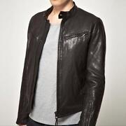G Star Leather Jacket
