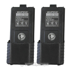 TWO x High Capacity 3800MAh Li-Ion Battery for Baofeng UV-5R UV-5RL UV-5R