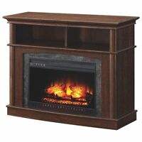 """Whalen Fireplace TV Stand for TVs Up To 50"""" (BBCFPC26-1) -"""
