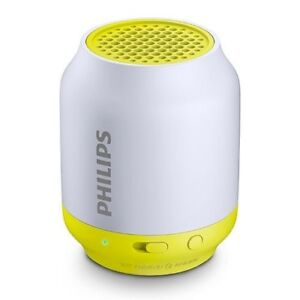 PHILIPS GBOBT50L37, Bluetooth Portable Speaker (Lime)