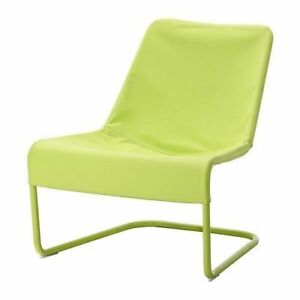 Ikea LOCKSTA Easy chair - green Removable washable cover