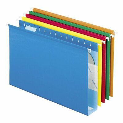 Esselte Pendaflex Hanging Folder - Esselte Pendaflex Extra Capacity Box Bottom Hanging Folder - Legal - 8.50