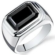 Mens Onyx Ring Size 8