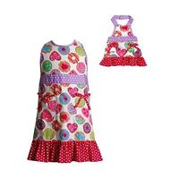 American Girl Apron and one for big girl too! New with tags