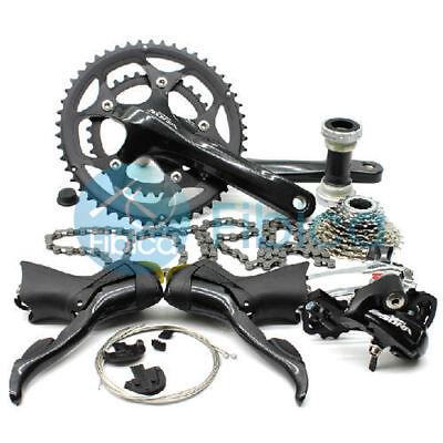 4008bf69b96 New Shimano Sora Road 3500 3550 9-speed Road Bike Groupset group set Black