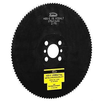 Metal Circular Saw 275 X 25 X 3240 Hss-e Emo5 Co5 Metal Saw Blade