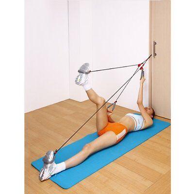 NEW Fitness Pilates Door Knob Rope Exerciser (ActionLine)