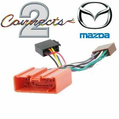 Mazda 3, 5, 6, MX-5, RX-8 Car Radio Stereo ISO Adaptor Lead Harness Loom Cable