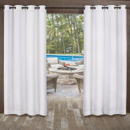 Exclusive Home Curtains Miami Grommet Top Window Curtain Pan