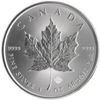 Silver Maple Leaf Purissimo Argento 999.9 Ideale Per Produrre Argento Colloidale -  - ebay.it