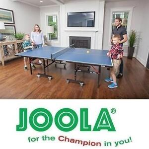 """NEW* JOOLA TABLE TENNIS TABLE 11200 198127692 5/8"""" (15mm) Inside Table Tennis Table PING PONG PADDLE SPORT PADDLES"""