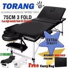 BrandNew 75cm Portable Aluminium Massage Tatoo Table 3Fold Beauty Maylands Bayswater Area Preview