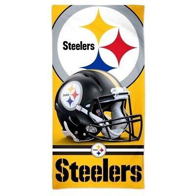 PITTSBURGH STEELERS ~ (1) 30x60 NFL Spectra Bath Pool Beach Towel ~ New! (Steelers Towel Bath)