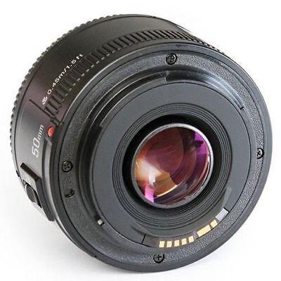 50mm F1.8 Lens for Canon DSLR Camera 5D Mark III 700D 1100D D3300 T3i T5 T6i T7i