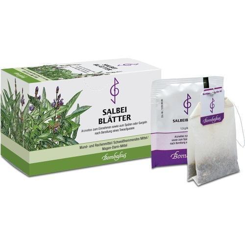 SALBEIBLÄTTER Tee Filterbeutel 20X1.5 g